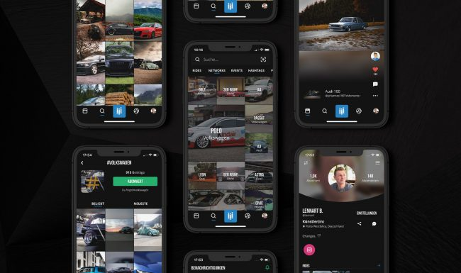 RiiiDE Screenshots App